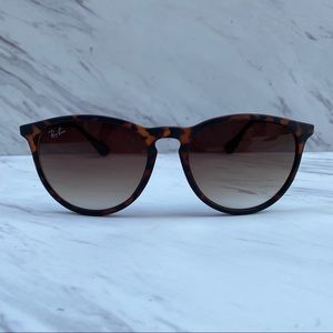 Ray-Ban ERIKA Tortoise Gunmetal RB4171 NEW